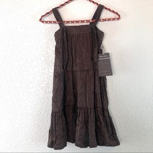 Marida Jane brown girls boho dress size 6